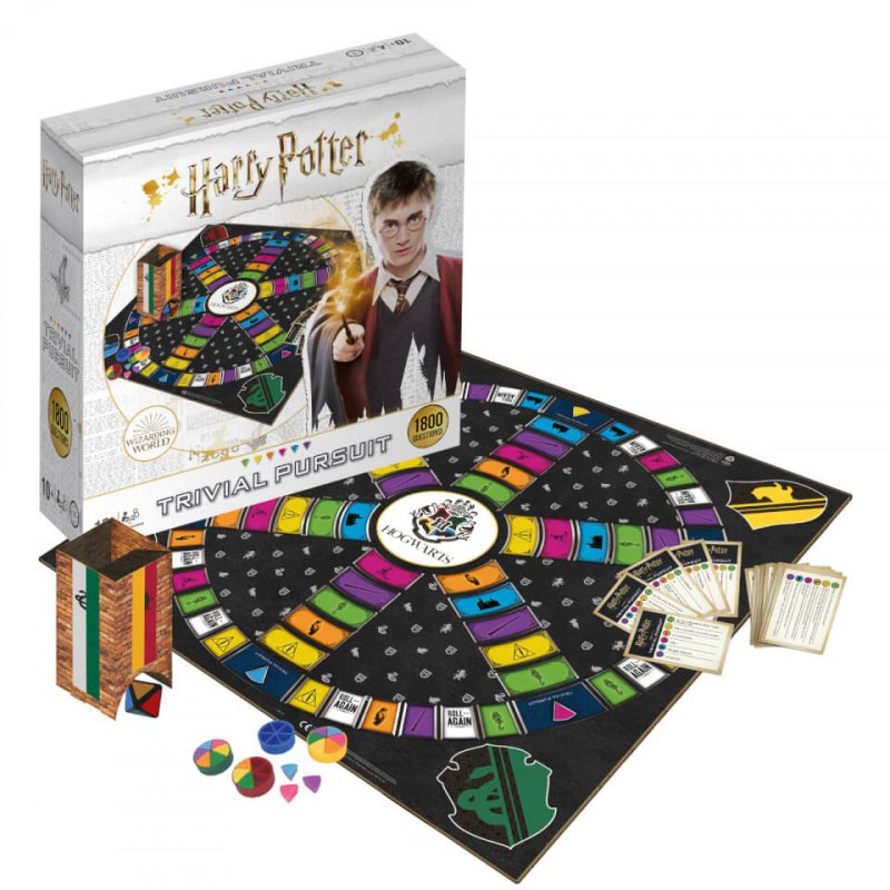 Trivial Pursuit - Harry Potter - Brætspil På Engelsk