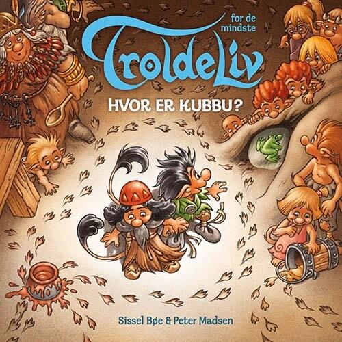 Troldeliv - Hvor Er Kubbu? - Peter Madsen - Bog
