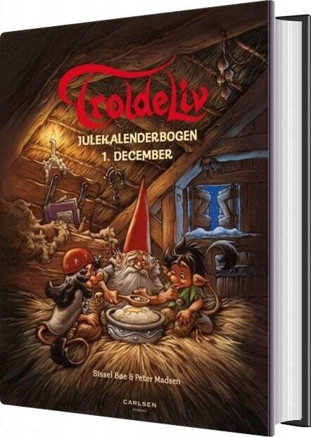 Image of   Troldeliv - Julekalenderbogen - Peter Madsen - Bog