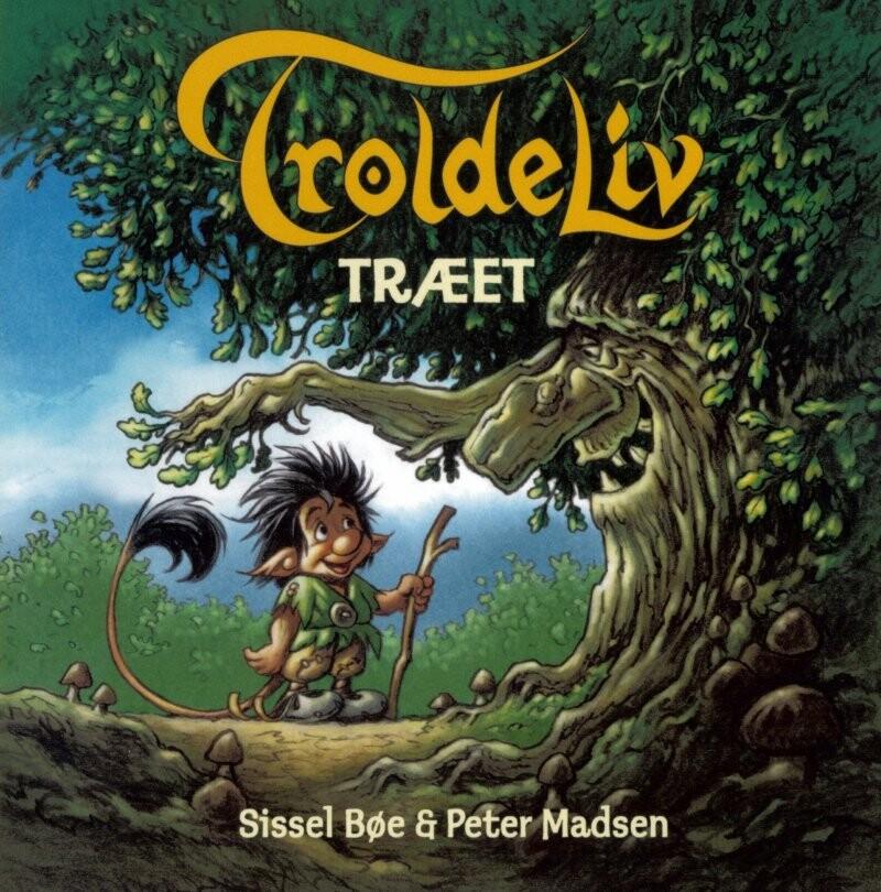 Troldeliv - Træet - Peter Madsen - Bog