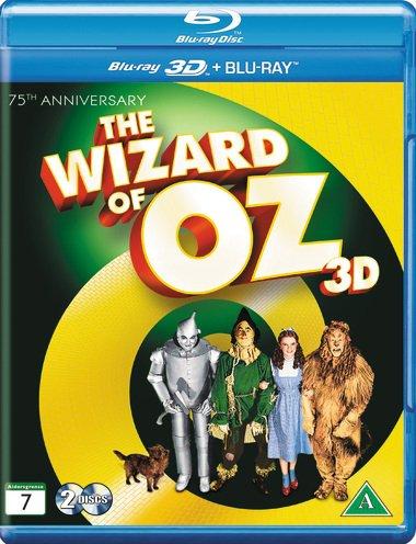 Image of   Wizard Of Oz / Troldmanden Fra Oz - 3D Blu-Ray