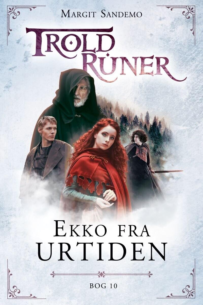 Troldruner 10 - Ekko Fra Urtiden - Margit Sandemo - Bog