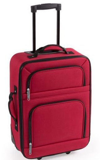 Sidste nye Trolley Taske - Håndbagage Kuffert Med Håndtag - 35,5x50x16,5 Cm HV-36