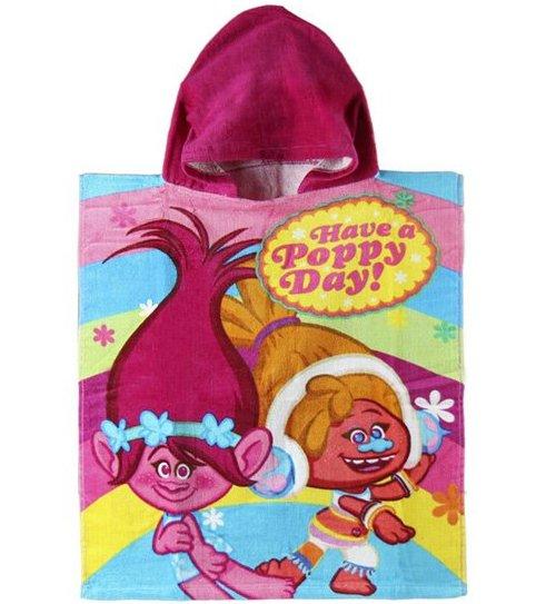 Trolls Håndklæde Med Hætte – 50×115 Cm – Pink
