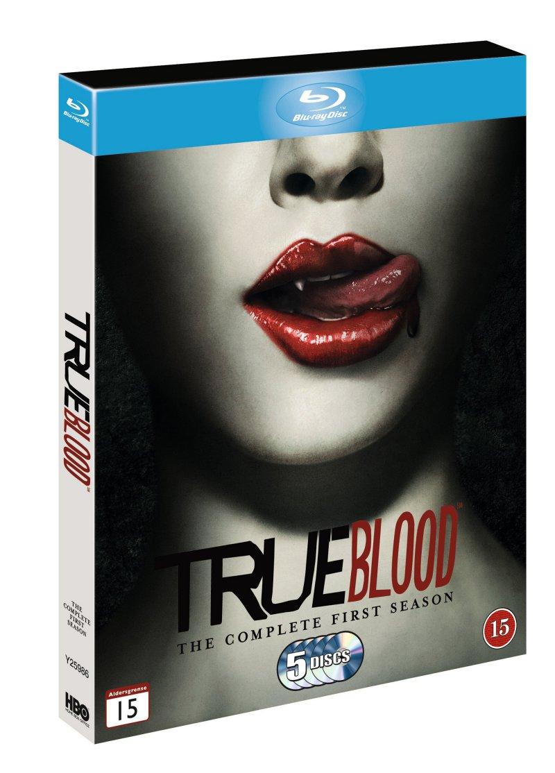 True Blood - Sæson 1 - Hbo - Blu-Ray - Tv-serie