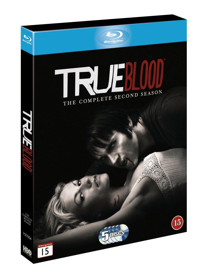 True Blood - Sæson 2 - Hbo - Blu-Ray - Tv-serie