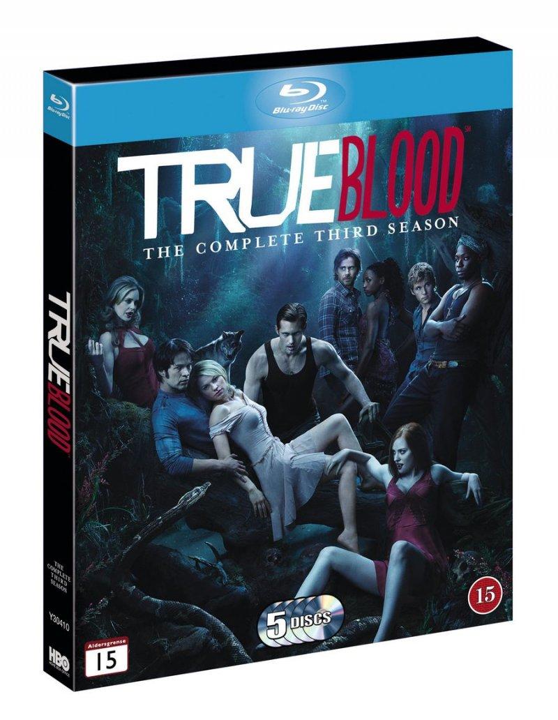 True Blood - Sæson 3 - Hbo - Blu-Ray - Tv-serie