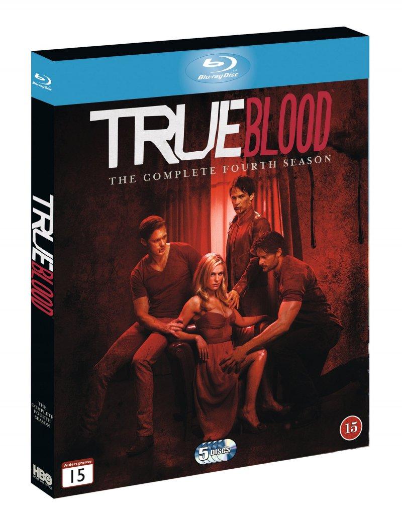 True Blood - Sæson 4 - Hbo - Blu-Ray - Tv-serie