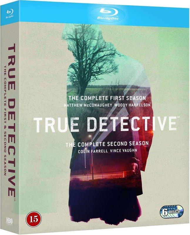 True Detective - Sæson 1 + 2 - Hbo - Blu-Ray - Tv-serie