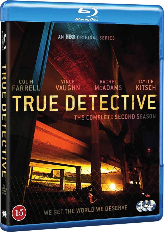 True Detective - Sæson 2 - Hbo - Blu-Ray - Tv-serie