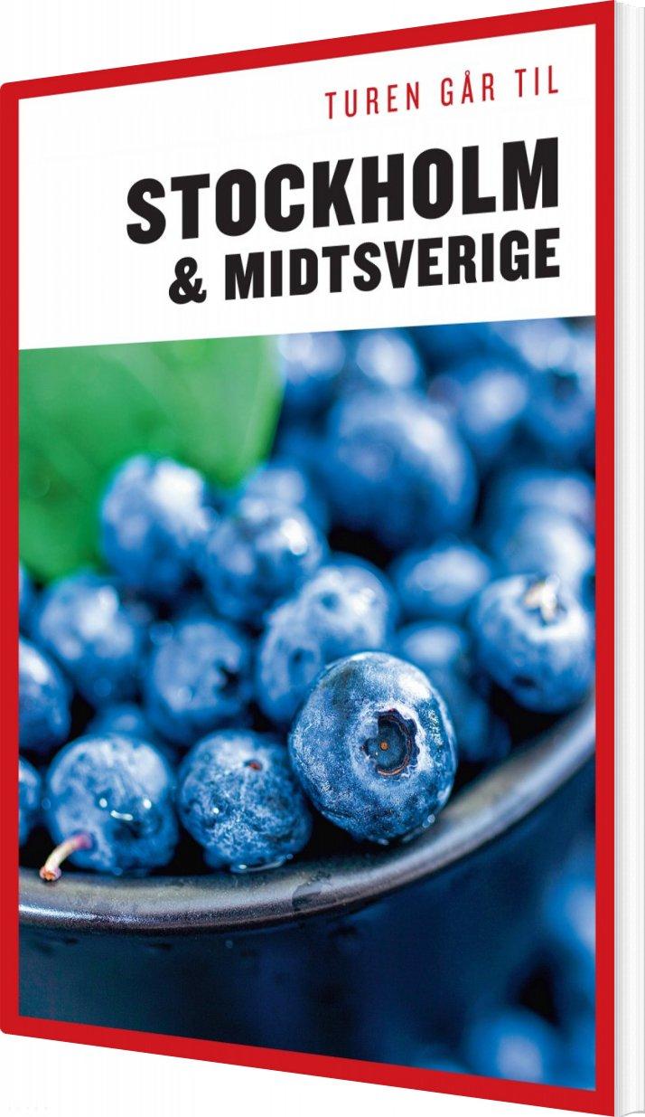 Turen Går Til Stockholm & Midtsverige - Didrik Tångeberg - Bog