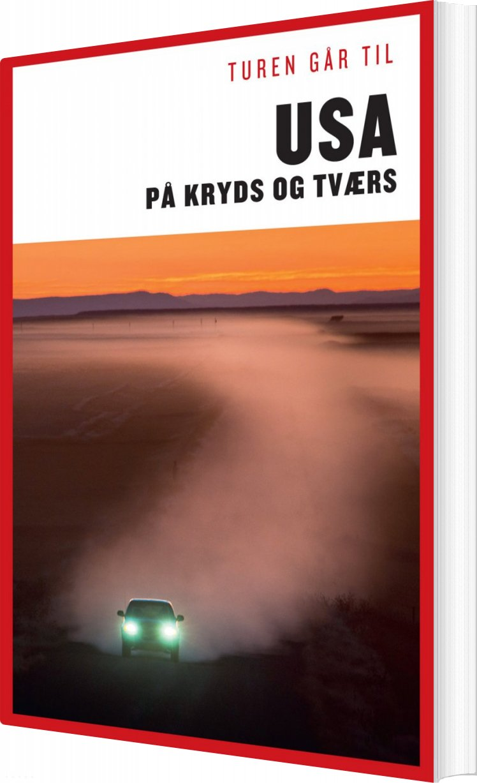 Turen Går Til Usa På Kryds & Tværs - Preben Hansen - Bog