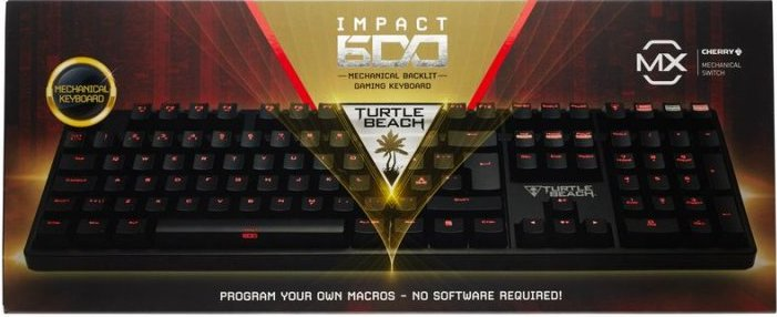 Turtle Beach Impact 600 - Gaming / Gamer Tastatur - Cherry Mx