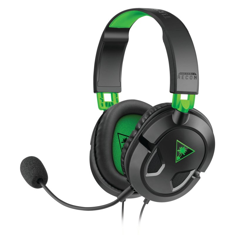 Image of   Turtle Beach Ear Force Recon 50x Gaming Headset - Sort Og Grøn