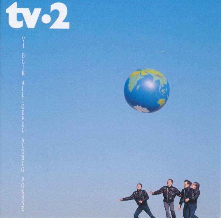 Tv2 - Vi Blir Alligevel Aldrig Voksne - CD