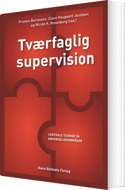 Tværfaglig Supervision - Claus Haugaard Jacobsen - Bog