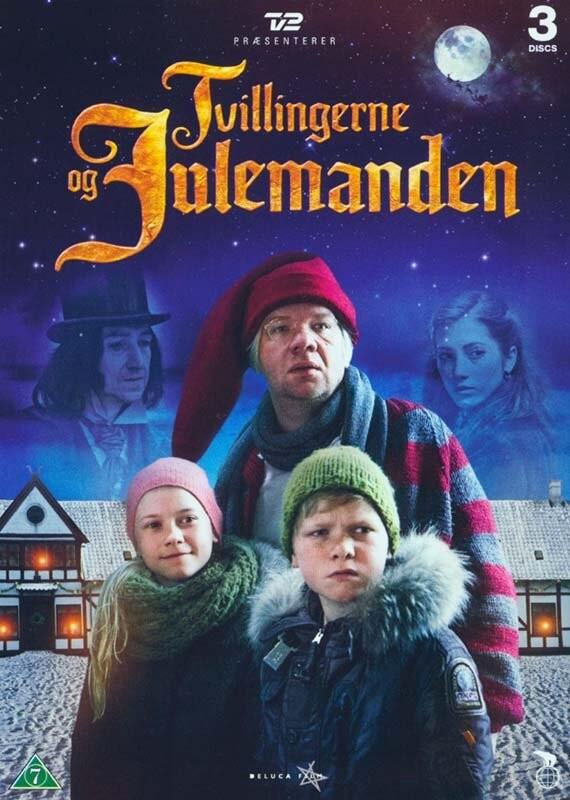 Tvillingerne Og Julemanden - Tv2 Julekalender - DVD - Tv-serie
