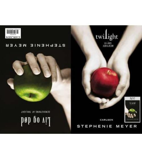 Twilight 10-års Jubilæum/liv Og Død - Stephenie Meyer - Bog
