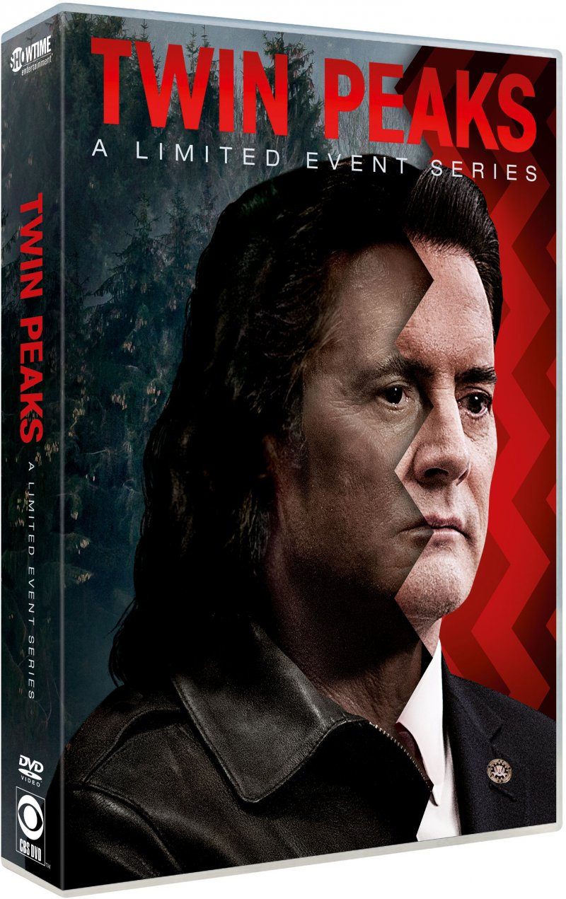 Image of   Twin Peaks: A Limited Event Series - Sæson 3 - DVD - Tv-serie
