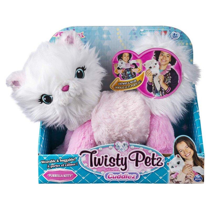 Twisty Petz - Cuddlez Plys Bamse - Purrella Kitty