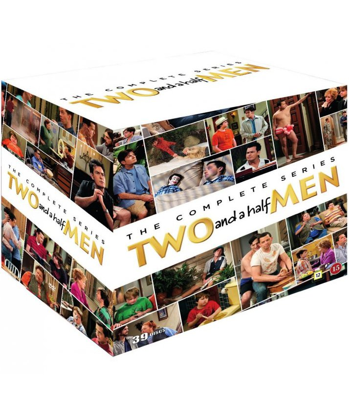 Image of   Two And A Half Men - Den Komplette Serie - DVD - Tv-serie