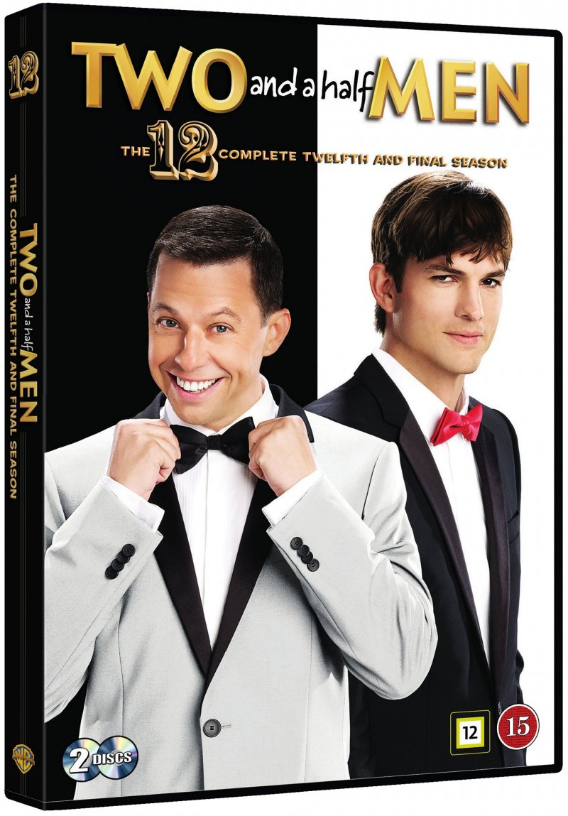 Two And A Half Men - Sæson 12 - DVD - Tv-serie