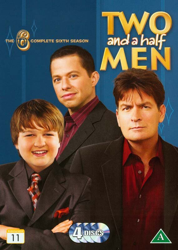 Two And A Half Men - Sæson 6 - DVD - Tv-serie