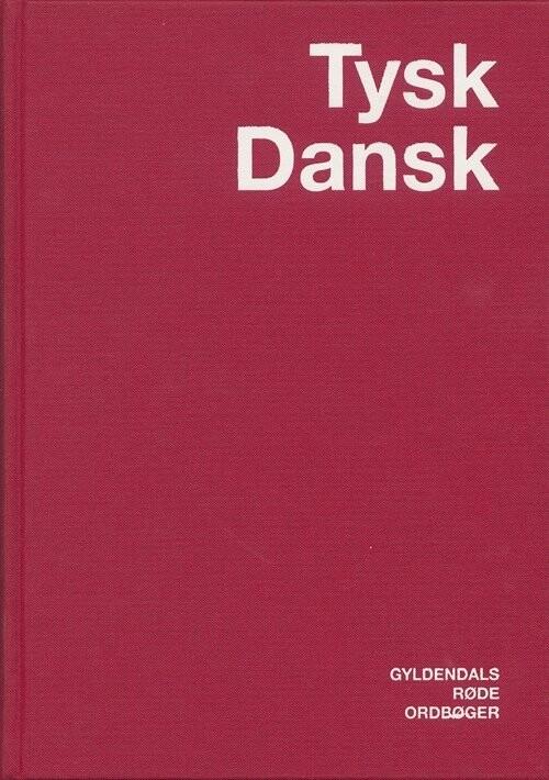 Tysk-dansk Ordbog - Preben Späth - Bog