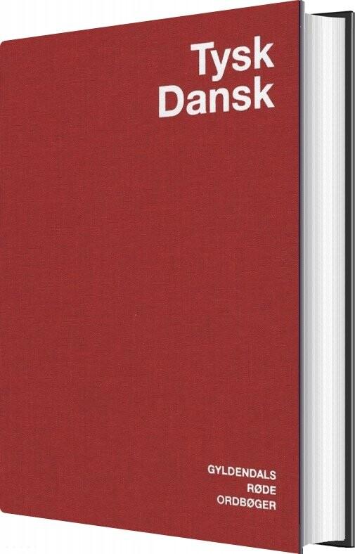 Tysk-dansk Ordbog - Egon Bork - Bog