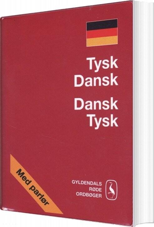 Tysk-dansk/dansk-tysk Ordbog - Gyldendal Ordbogsafdeling - Bog