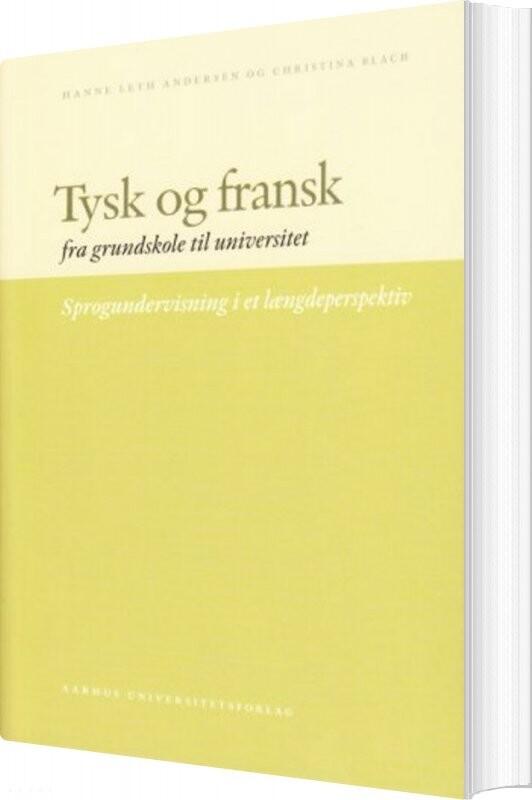 Billede af Tysk Og Fransk - Hanne Leth Andersen - Bog