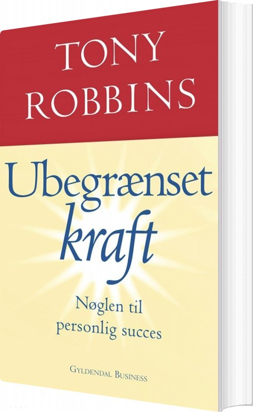 Ubegrænset Kraft - Tony Robbins - Bog