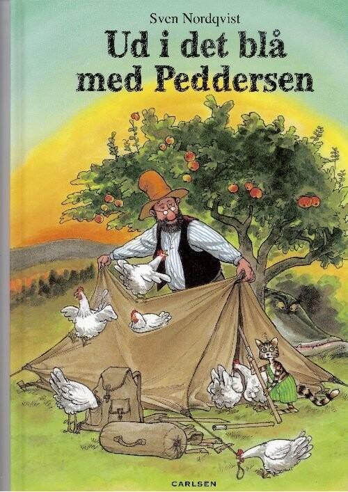 Image of   Ud I Det Blå Med Peddersen - Sven Nordqvist - Bog