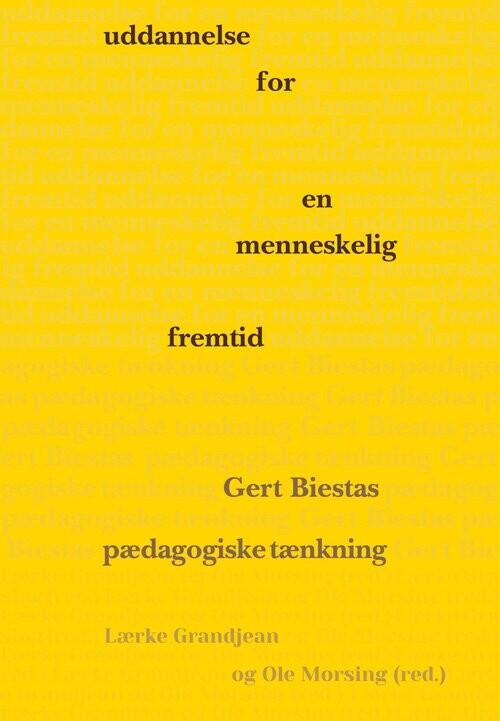 Image of   Uddannelse For En Menneskelig Fremtid - Ole Morsing - Bog