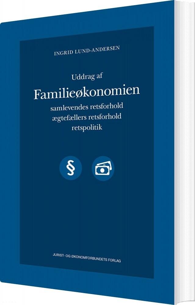 Billede af Uddrag Af Familieøkonomien - Ingrid Lund-andersen - Bog