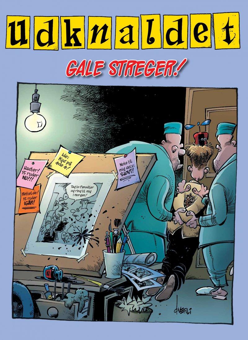 Udknaldet 3: Gale Streger - Frode øverli - Tegneserie