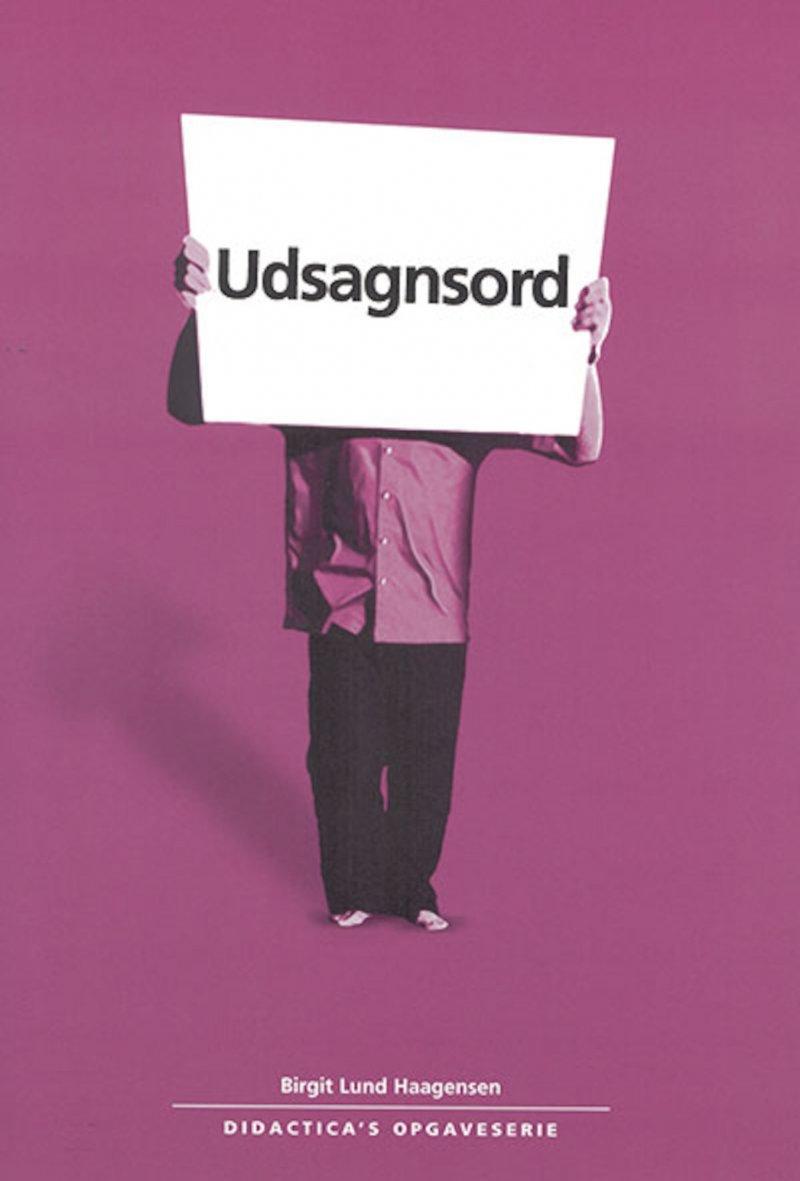 Udsagnsord - Birgit Lund Haagensen - Bog