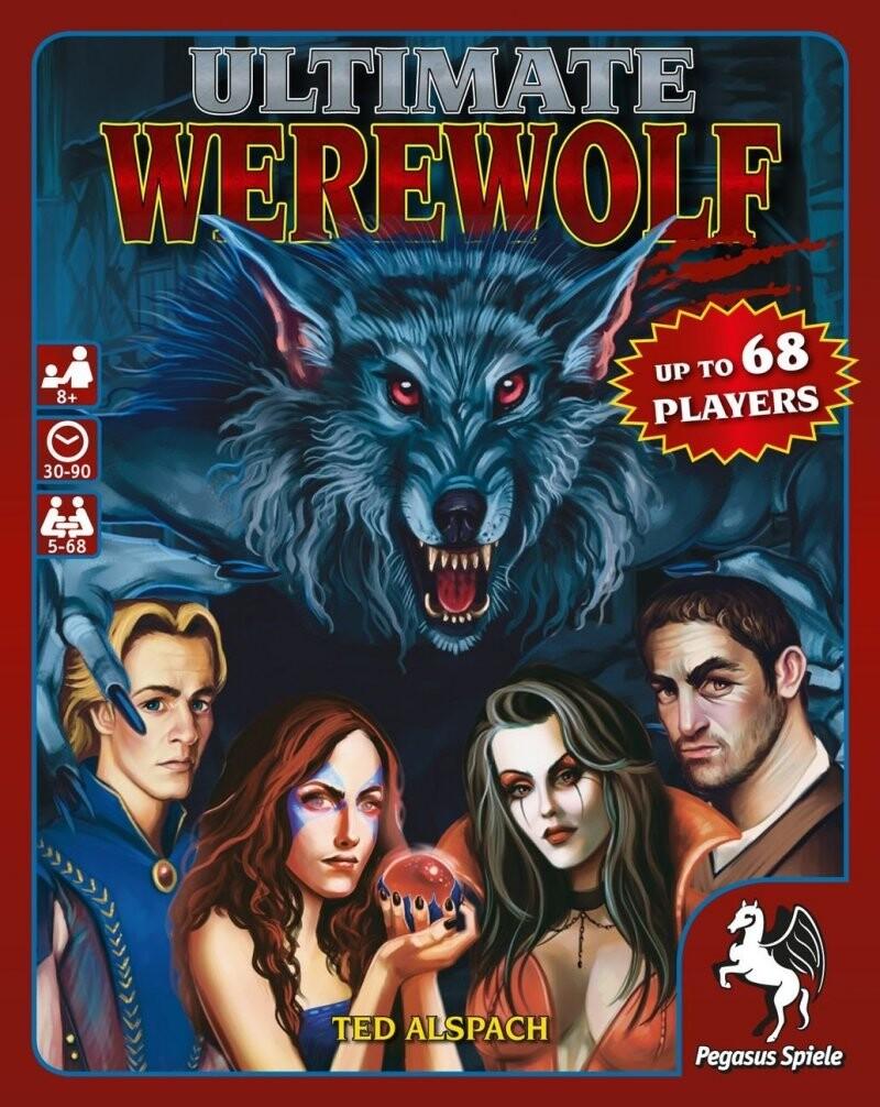 Ultimate Werewolf - Brætspil På Engelsk