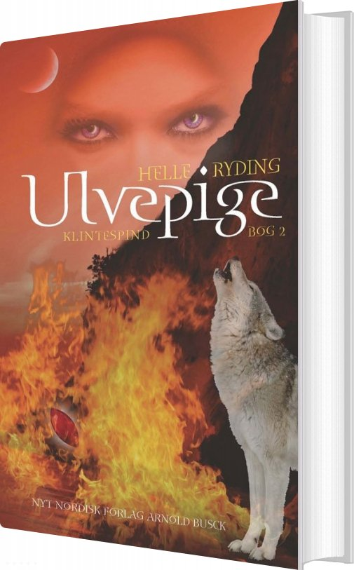 Ulvepige - Helle Ryding - Bog