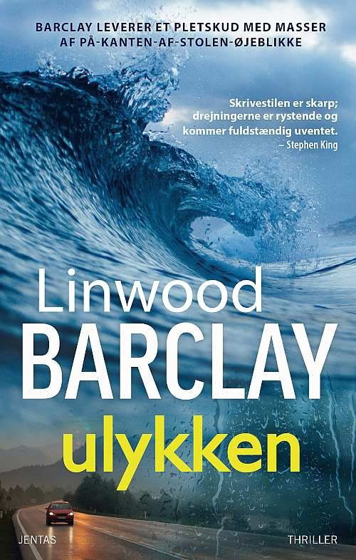 Image of   Ulykken - Mp3 - Linwood Barclay - Cd Lydbog