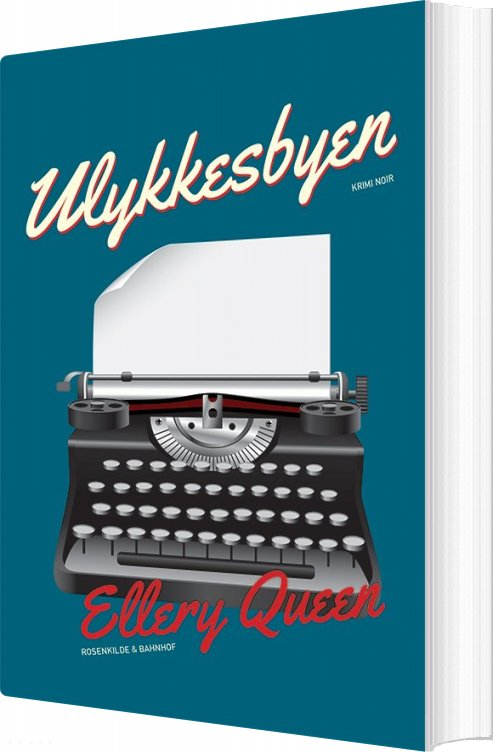 Image of   Ulykkesbyen - Ellery Queen - Bog