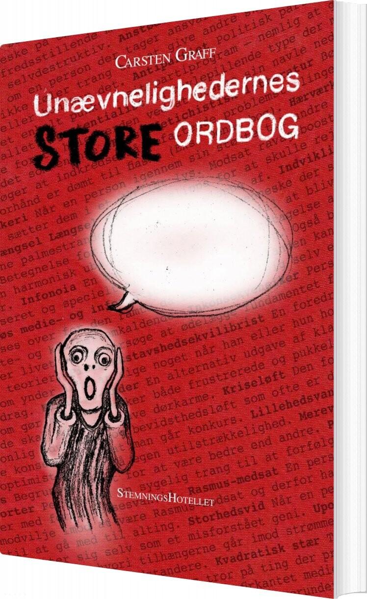 Unævnelighedernes Store Ordbog - Carsten Graff - Bog