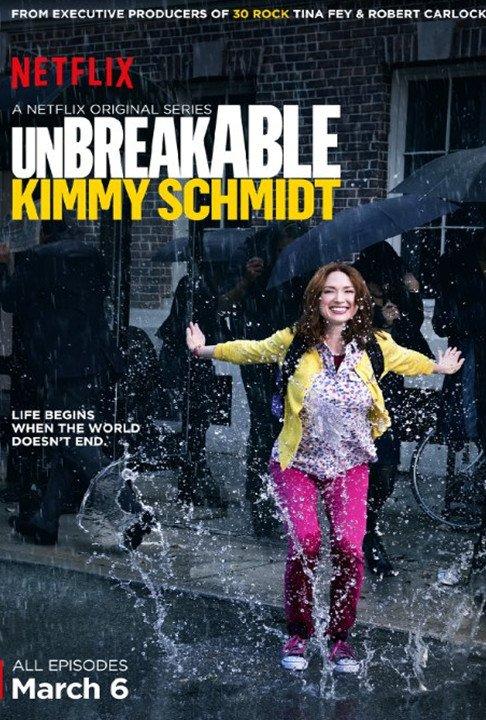 Billede af Unbreakable Kimmy Schmidt - Sæson 1 - DVD - Tv-serie