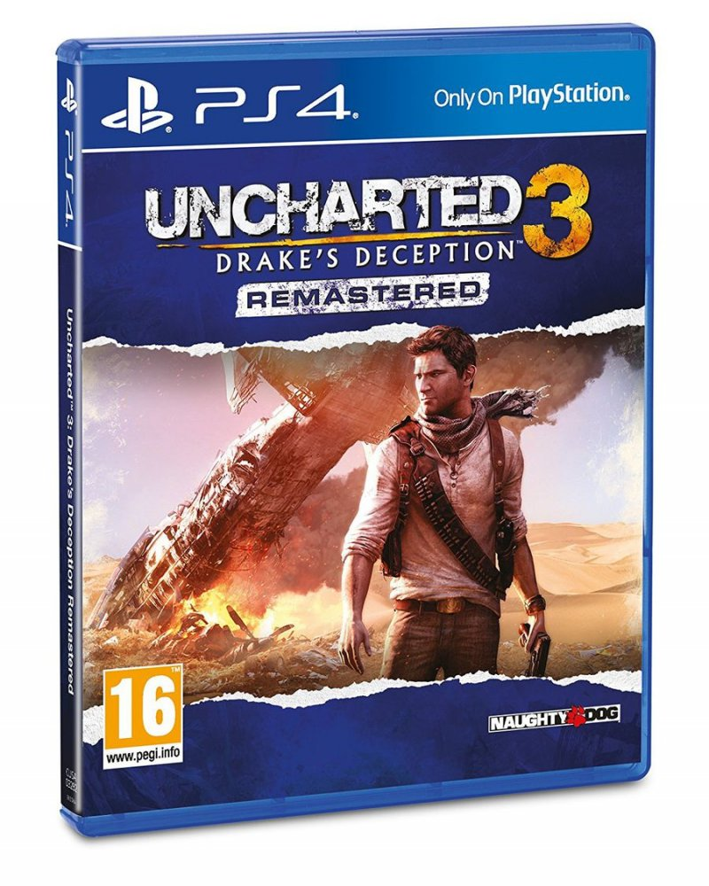 Image of   Uncharted 3: Drakes Deception (remastered) - PS4