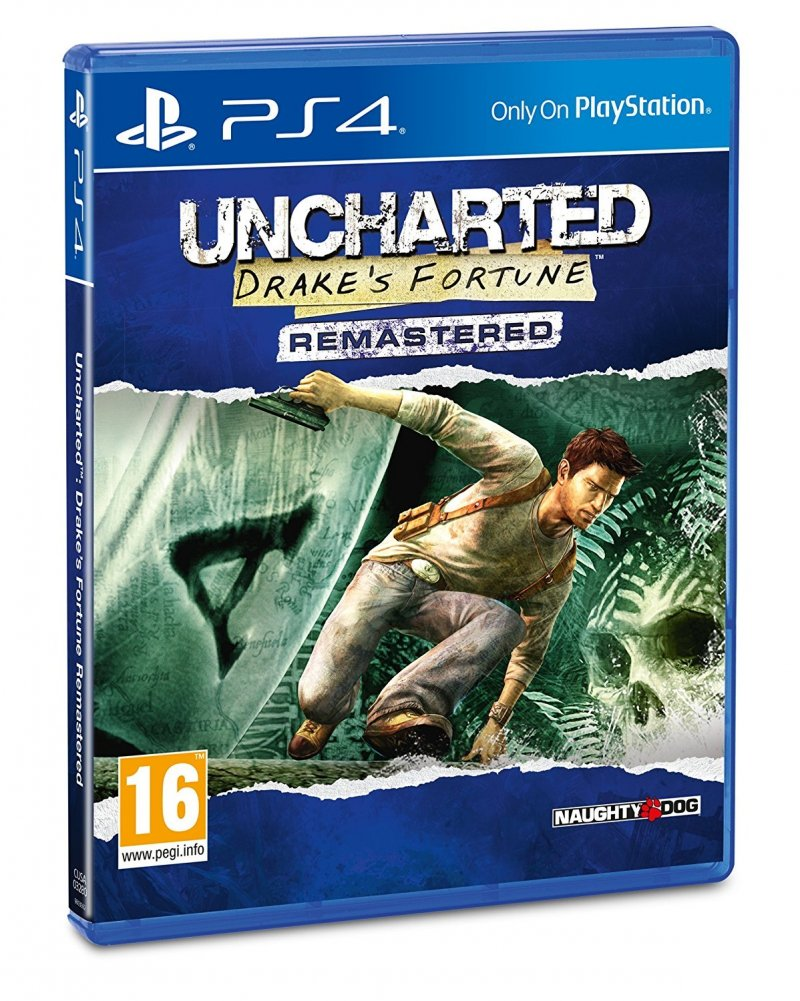 Image of   Uncharted: Drakes Fortune (remastered) - PS4