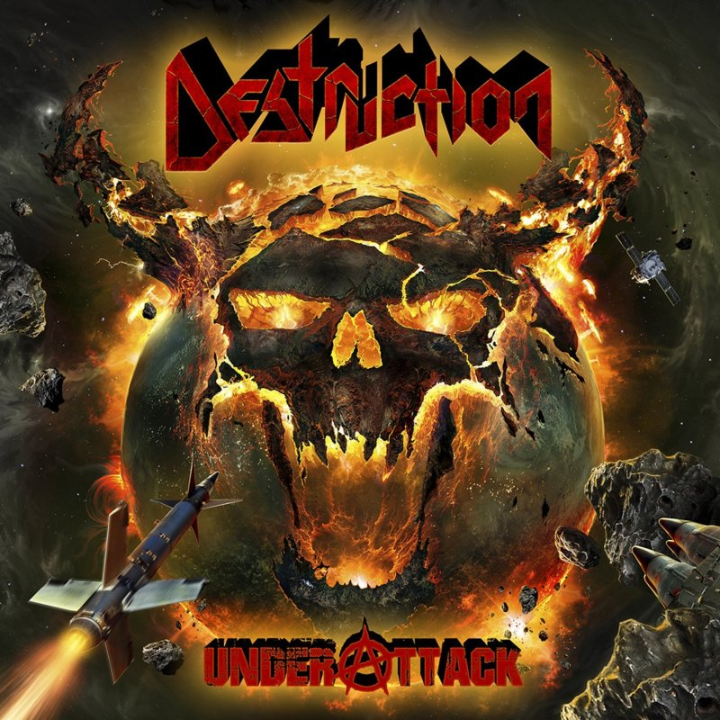 Image of   Destruction - Under Attack Digipack - CD