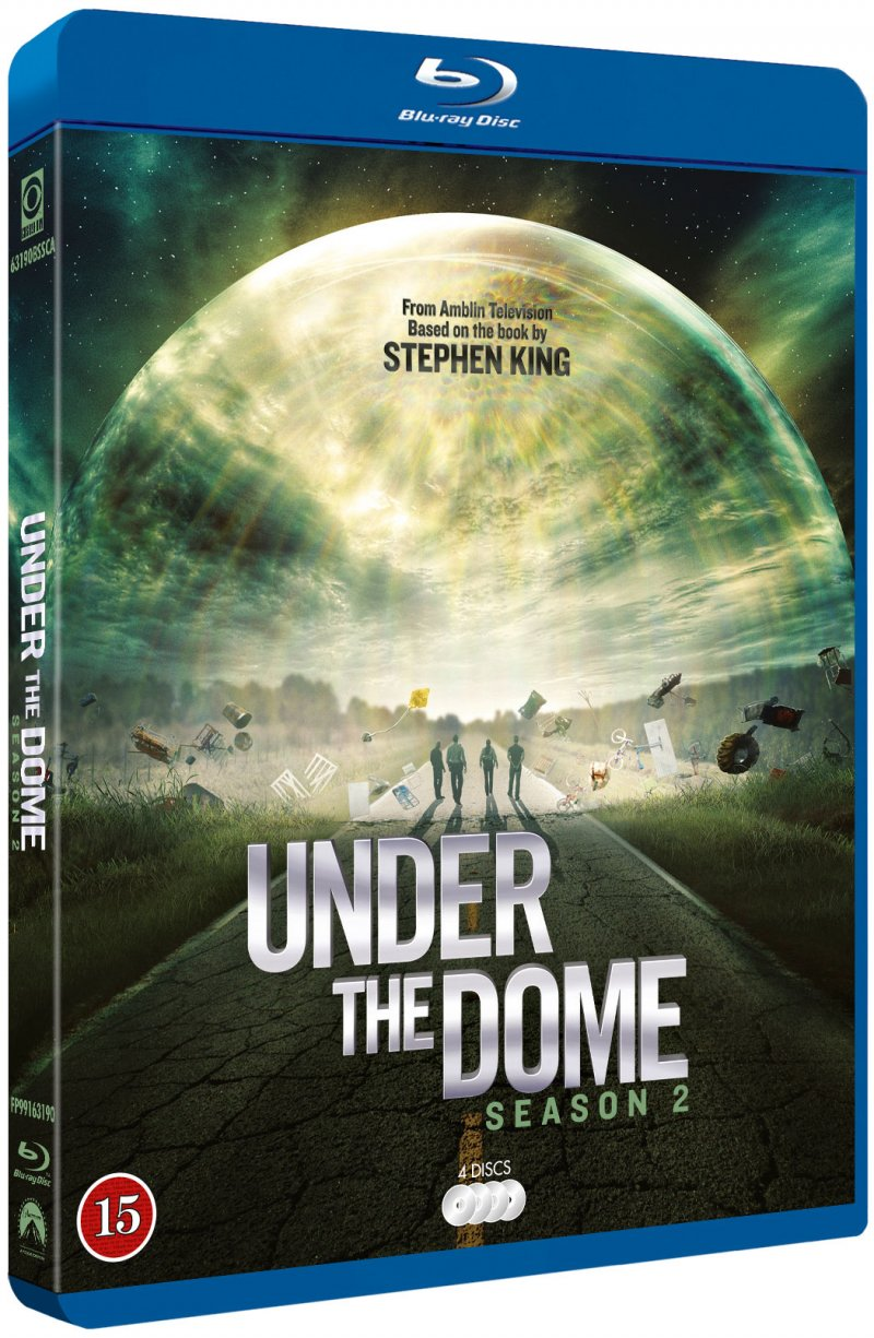 Image of   Under The Dome - Sæson 2 - Blu-Ray - Tv-serie