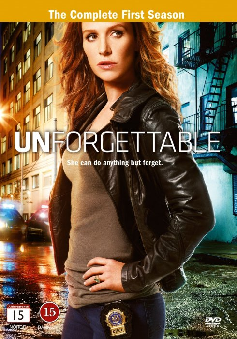 Image of   Unforgettable - Sæson 1 - DVD - Tv-serie