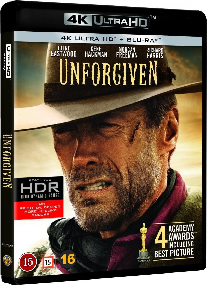 De Nådesløse / Unforgiven - 4K Blu-Ray