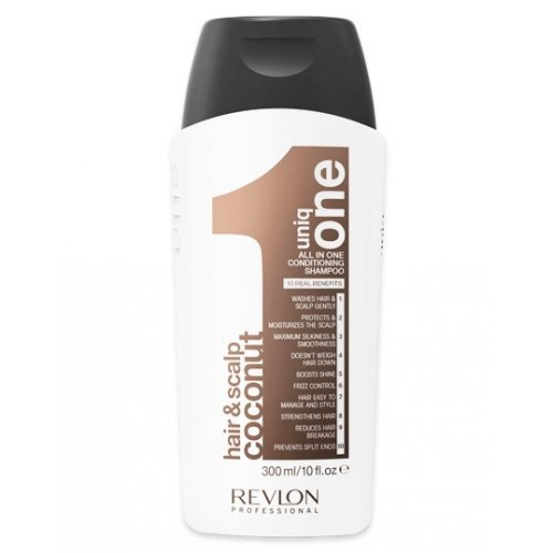 Revlon Uniq One Conditioning Shampoo All In One Coconut - 300 Ml.